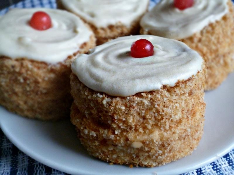с рецепт фото пирожные бисквитные