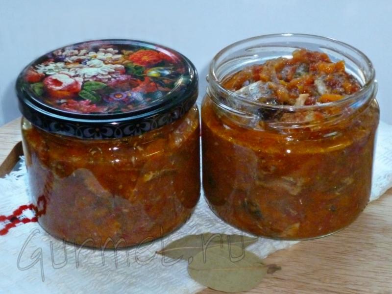 консервы из минтая в томатном соусе в домашних условиях