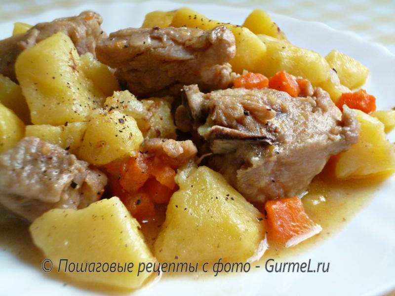 Картошка в соусе в мультиварке рецепты с фото