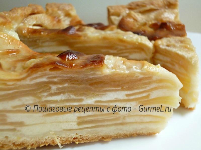 Низкокалорийный яблочный пирог рецепт