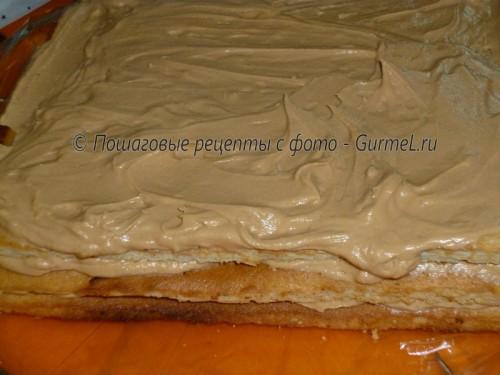 Торт на основе сгущенного молока